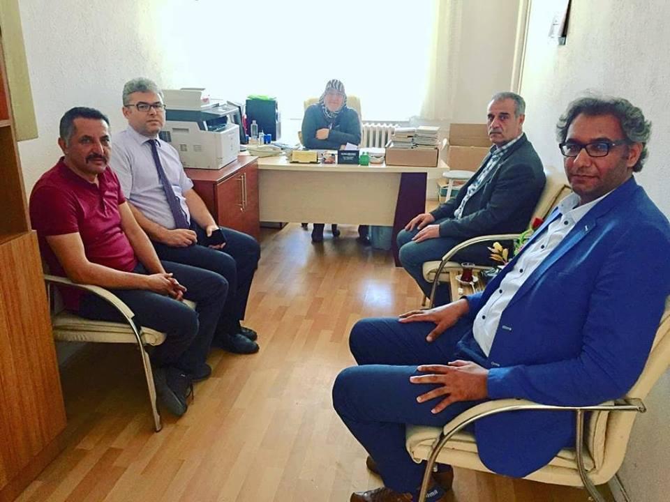 TES. Nevşehir'de Eğitim Çalışanları İle Buluşmaya Devam Ediyor.