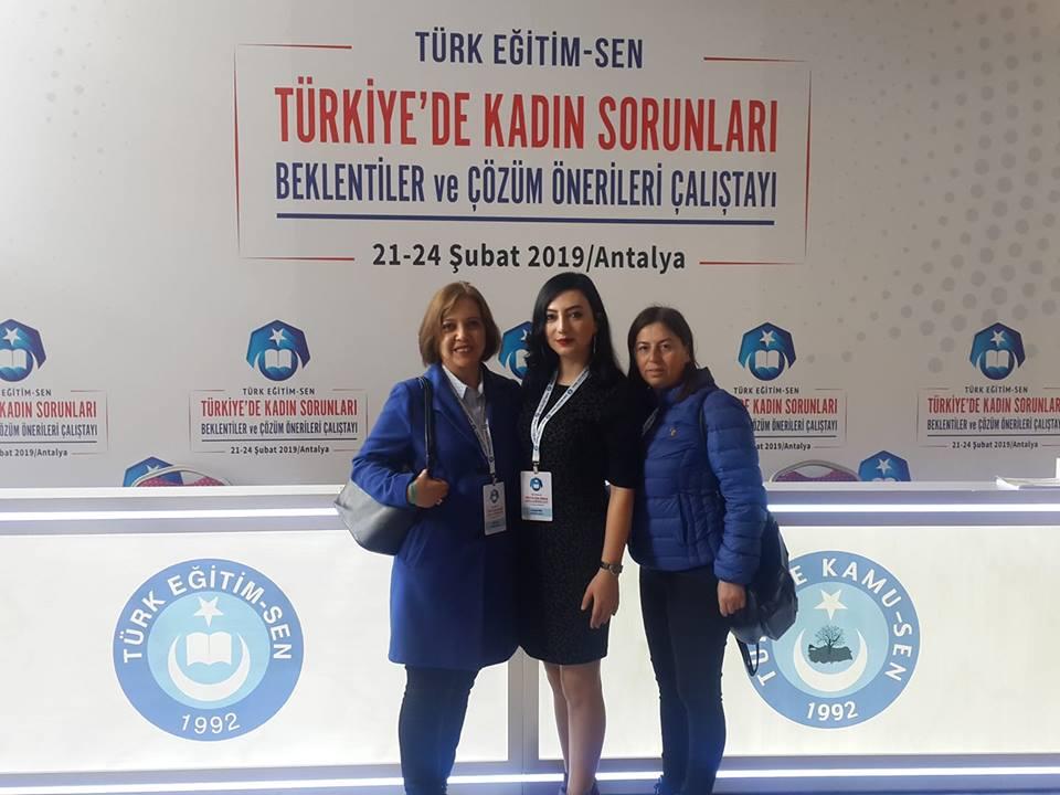 Kadın Komisyon Başkanlığımız Kadın Çalıştayındaydı.