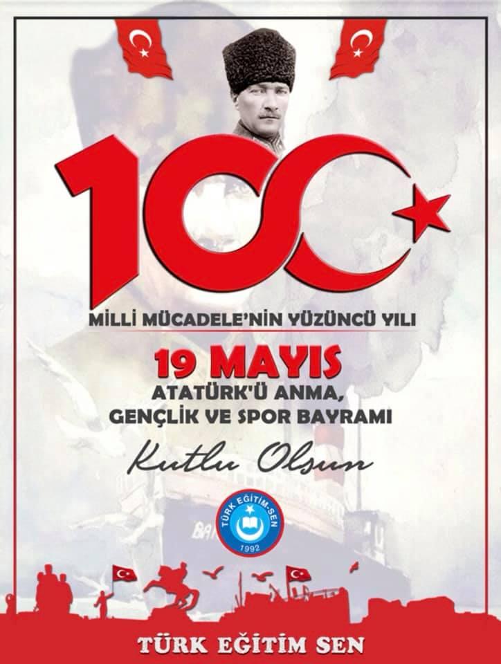 TÜRK EĞİTİM SEN; AYNI RUH VE AYNI İNANÇLA 100.YILI KUTLUYOR.