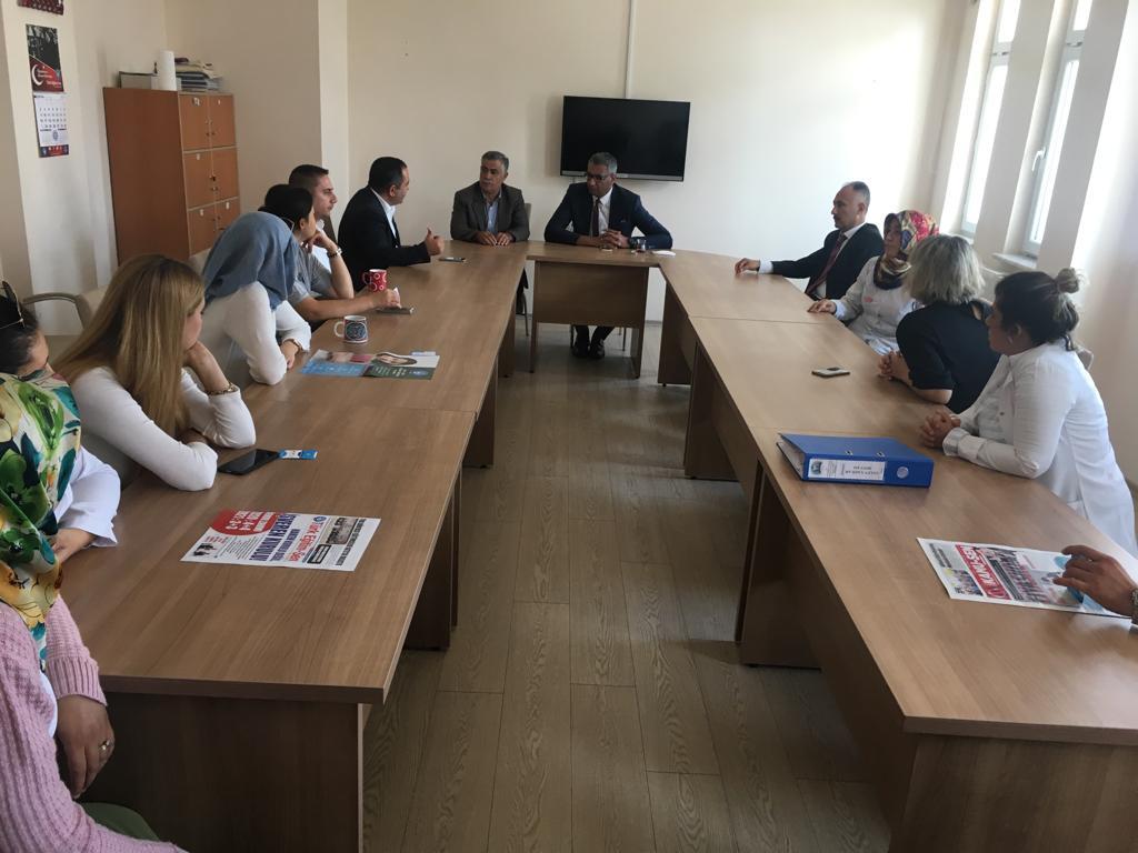 Merkez Kapadokya Özel Eğitim Uygulama Okulu'muzu ziyaret ederek özel insanların konuğu olduk.